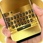 Luxury Gold Brick Keyboard Rich Wealth Theme