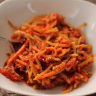 Broccoli Slaw Pasta.