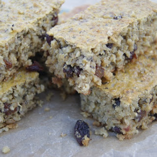 Soaked Oatmeal Breakfast Bars (Sugar Free)
