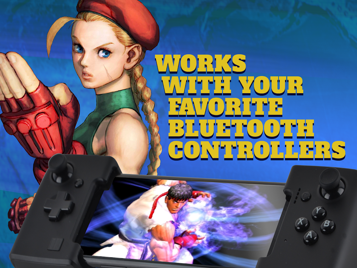 Features of Street Fighter 4 APK