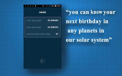 Hitung usia Anda di planet lain 1.3 screenshots 3