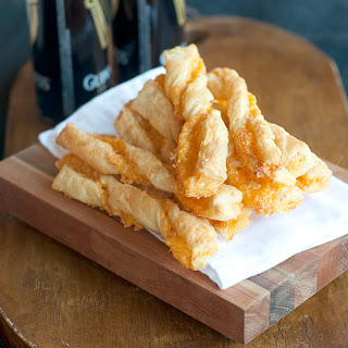 Puff Pastry Cheese Straws.