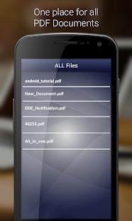 PDF Reader 7.0+ - náhled