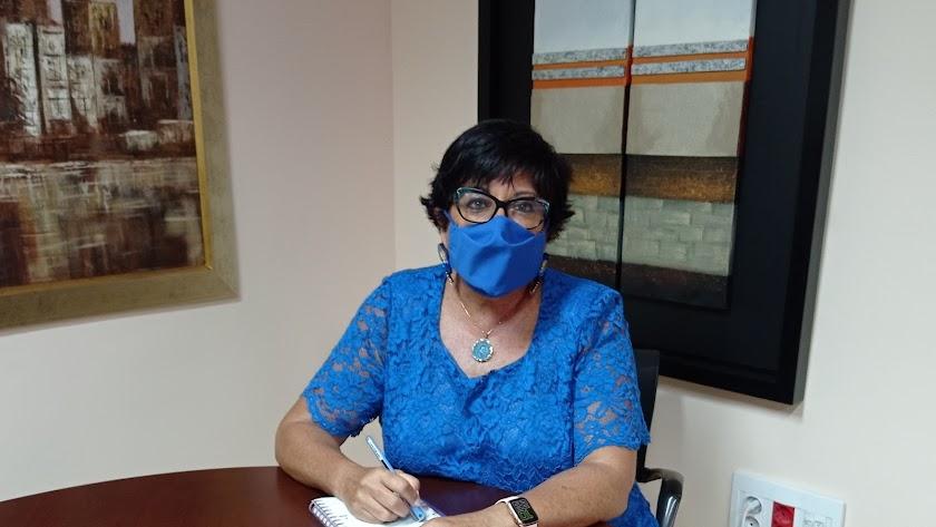 María del Mar García, presidenta del COE Almería.