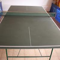 stanza di ping pong di