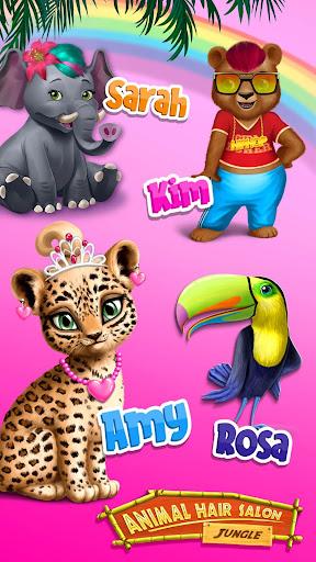 Jungle Animal Hair Salon - Wild Style Makeovers screenshots 5