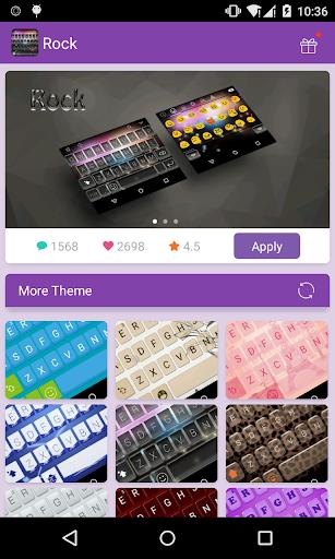 Emoji Keyboard-Rock