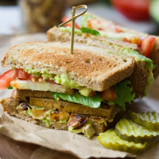 Vegan Club Sandwiches.