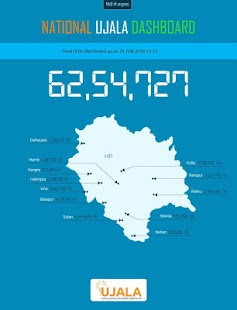 National UJALA Dashboard- screenshot thumbnail