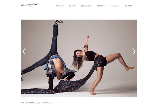 site de photographe à paris