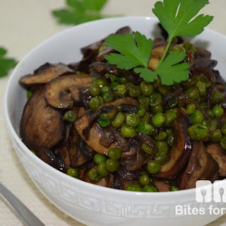 Sweet Peas and Mushrooms