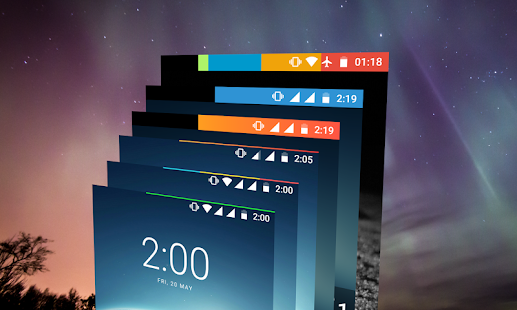 Energy Bar - A pulsating Battery indicator! Screenshot
