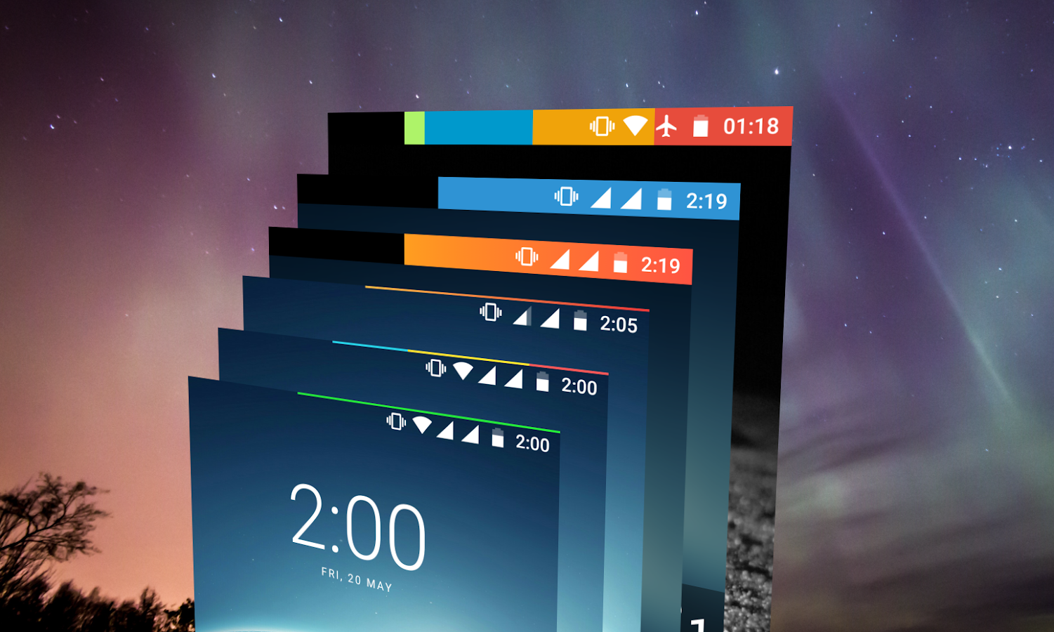 Energy Bar - A pulsating Battery indicator!- screenshot
