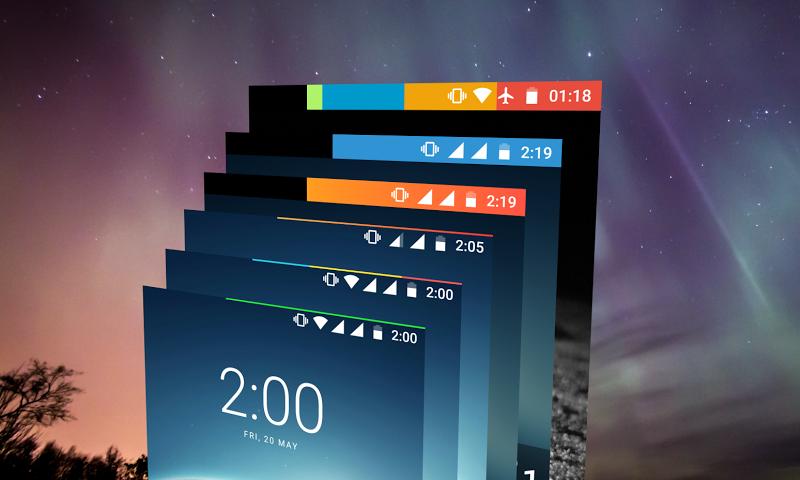 Energy Bar - A pulsating Battery indicator! Screenshot