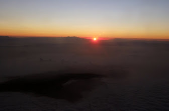 Photo: Sunrise somewhere over Southern California  Wednesday, Sept. 3.