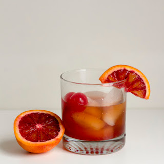 Blood Orange Old Fashioned for #CocktailDay