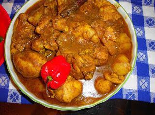 Chicken Curry From Guyana Recipe