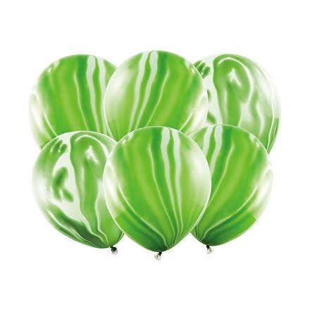 Ballonger - Marmor grön