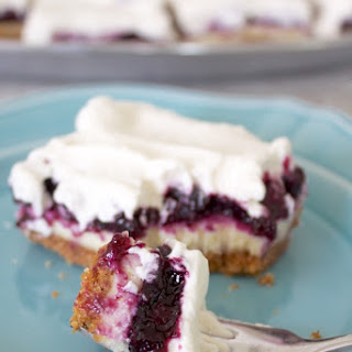 Blueberry Cheesecake Bars.