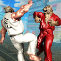 Monster Street Fighting Club : Wrestling Games icon