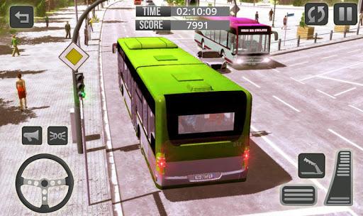 Télécharger Gratuit City Bus Driver Game 3D : Tourist Bus Games 2019 APK MOD (Astuce) screenshots 1