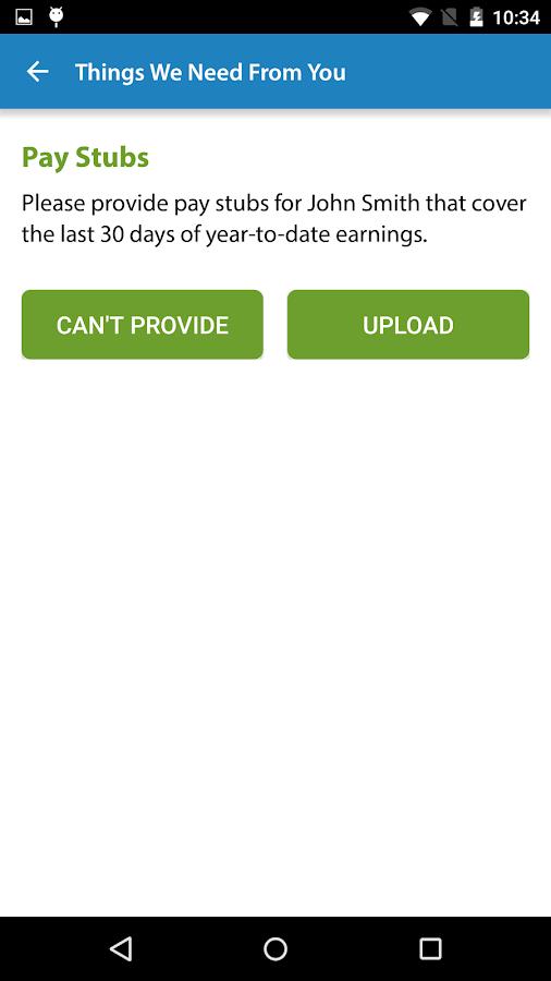 My Quicken Loans Mobile- screenshot