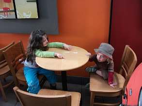 Photo: Waiting for their drink at Starbucks