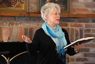 Photo: Linda Whitmire led worship.