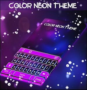 Barva Neon Téma - náhled