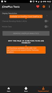 jOnePlus Tools [adb/root] - náhled