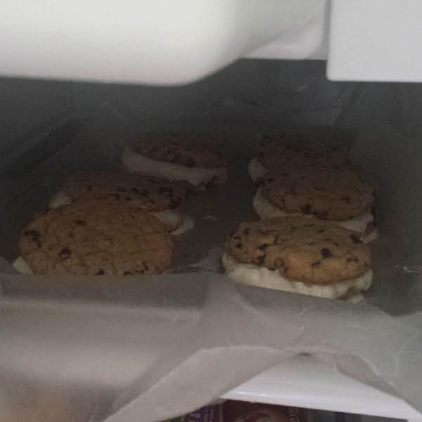 From Instagram: Chocolate Chip Ice Cream Sandwiches Http://instagram.com/p/bw39j4why7/