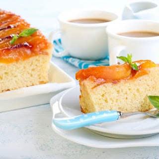 Cream Peach Caramel Cake Recipes