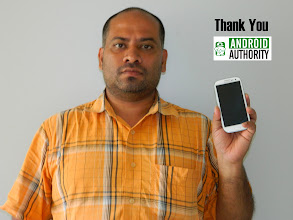 Photo: Mr. Prabhu from India showing off his Galaxy S3 that he won in the Galaxy S3 International Giveaway #2 in June 2012.
