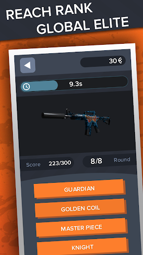 Ultimate Quiz for CS:GO - Skins | Cases | Players screenshots 13