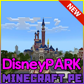 Map for Minecraft DisneyPark
