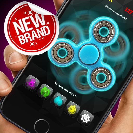 Premium LASER fidget hand spinner edc toys