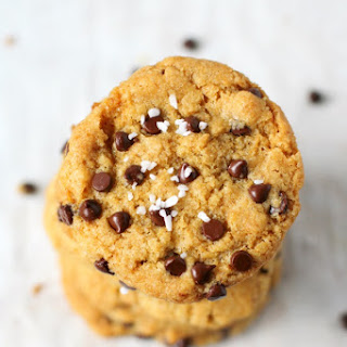 Salted Chocolate Chip Cookies..