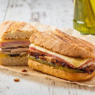 Mini Cuban Sandwiches.