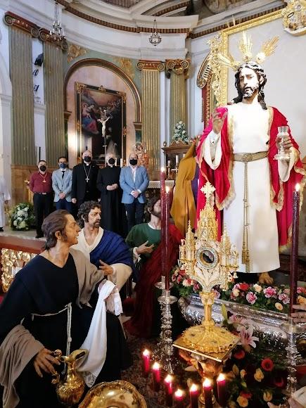 Altar de la Santa Cena.