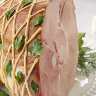 No-Bake Ham with Creamy Mustard Sauce
