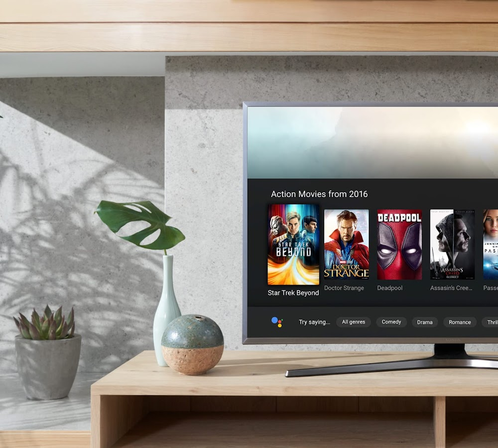 Google Assistant is now compatible with selected Android TVs