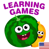 FunnyFood Kindergarten learning games for toddlers