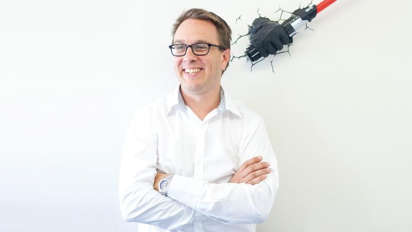 Saicom CTO Greg de Chasteauneuf.