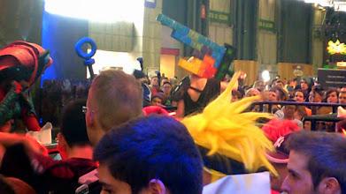 Photo: Arcade Riven. Notez l'épée en Tetris