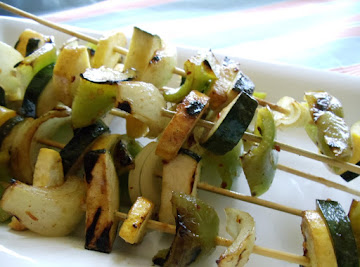 Grilled Vegetables With A Tangy Sauce Recipe