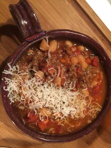 Beef and Cannellini Bean Soup