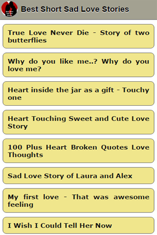 cute love stories for her