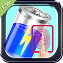 Finger Battery Charger Prank icon