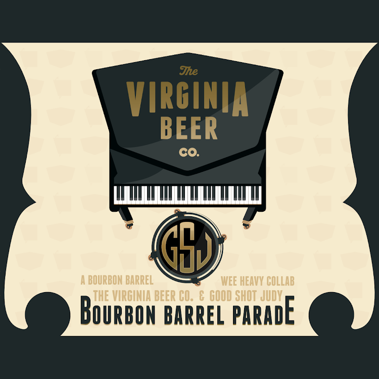 Logo of Virginia Beer Co. / Good Shot Judy Bourbon Barrel Parade