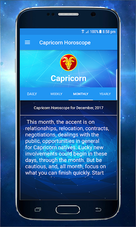 Capricorn ♑ Daily Horoscope 2019 – (Android Apps) — AppAgg